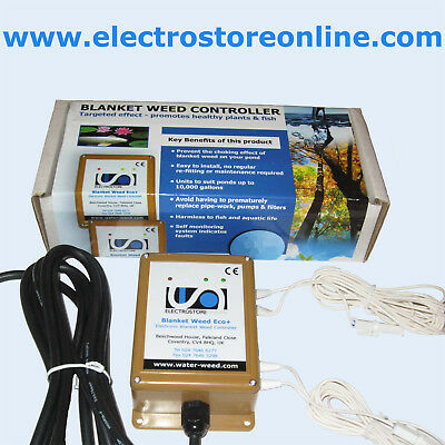 Electronic Blanket Weed Controller – Eco+ (Large Pond)