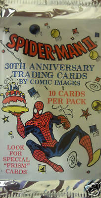 MARVEL SPIDER-MAN 30th ANNIVERSARY BOOSTER PACK