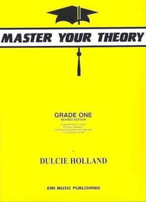 Master Your Theory Grade 1 Book by Dulcie Holland *Latest Edition* One AMEB