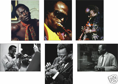 Miles Davis Jazz Legend POSTCARD Set
