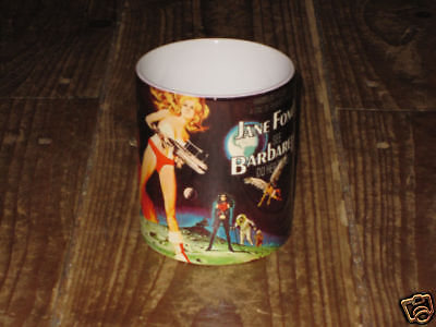 Barbarella Jane Fonda Advertising MUG