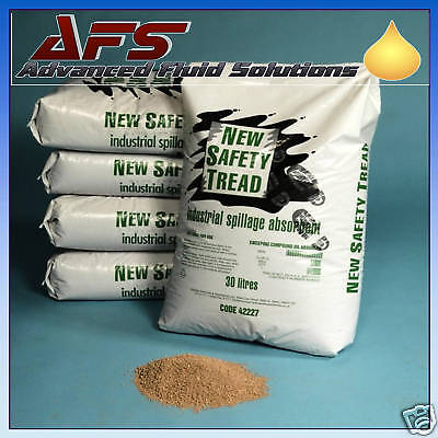 55 x 30L New Safety Tread Granules Oil Spill Absorbent