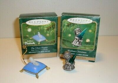"Hallmark Ornaments ""Lot of Two"" MIB"
