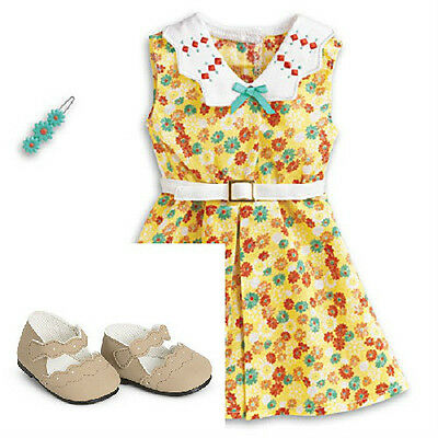 American Girl KIT'S FLORAL PRINT DRESS outfit for Kit Doll