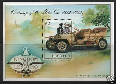 Lesotho 1985 Cent.of Motoring MS SG645 MNH