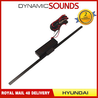Windscreen Glass Mount Car Radio Replacement Aerial Antenna For Hyundai