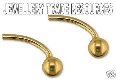 9ct YELLOW GOLD CUFFLINK CUFF LINK  JEWELLERY MAKING