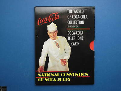 World of Cola-Cola series #3 Soda Jerks phonecard