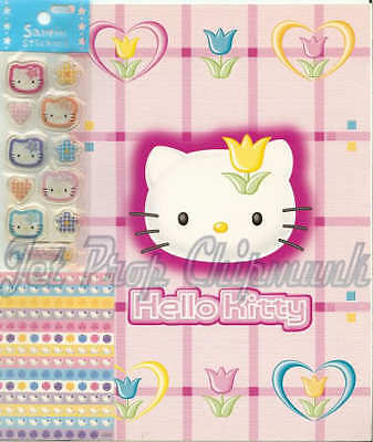 Hello Kitty HelloKitty Notebook & Sticker Japan 97-01