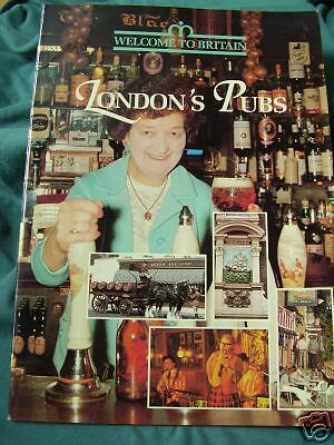 """Sandra Alfry: """"london's Pubs"""", Welcome To Britain, 1978"""