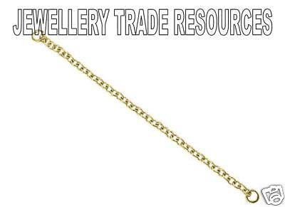 18ct Yellow Gold Bracelet Safety Chain