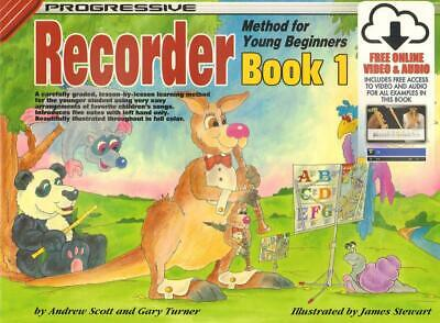 Progressive Recorder Method Young Beginners Book 1 CD/DVD