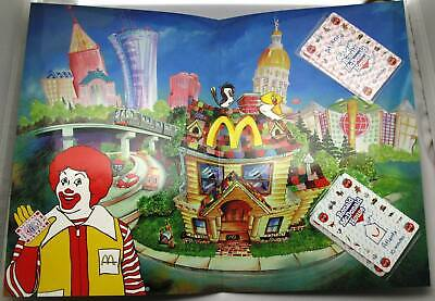 Coca-Cola & Ronald McDonald House in Atlanta phonecard set of 2