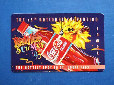 Coca-Cola 16th National Convention Red Hot Summer phonecard