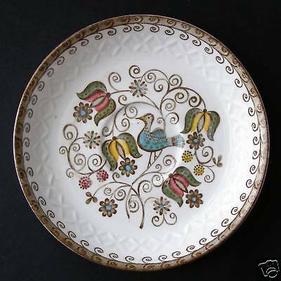 RIDGWAY POTTERY STAFFORDSHIRE ENGLISH PARTRIDGE SAUCER