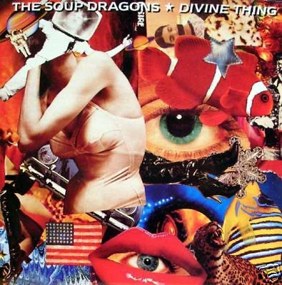 The Soup Dragons-divine thing/driving 45""