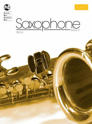 AMEB Tenor Saxophone Series 2 Grade 2 / Two / Second Grade Book *NEW*