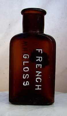 Rare Chocolate Colored Whittemore French Gloss Polish