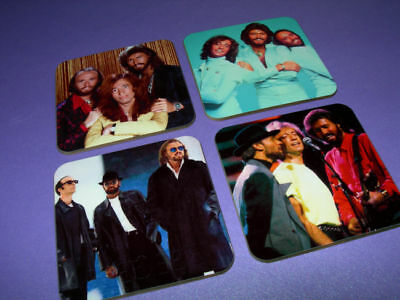 The Bee Gees Photo Drinks Coaster Set