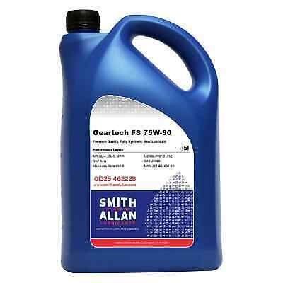 Smith & Allan EP 75w-90 Fully Synthetic Gear Oil 5 Litre 5L