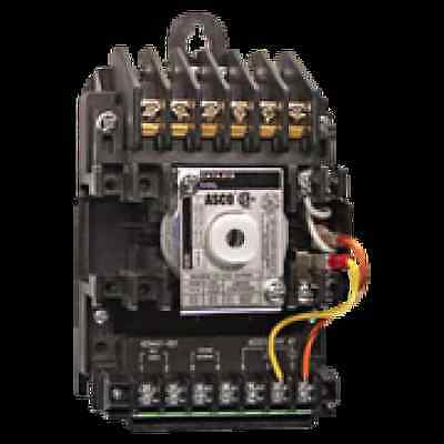 ASCO 918 4 Pole Lighting Contactor 20 amp for Branch Circuits Enclosed Type