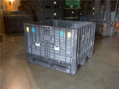 Used 48x45x34 Bulk Collapsible Containers