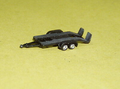 P&D Marsh N Gauge N Scale X63 15ft Car Trailer PAINTED & finished