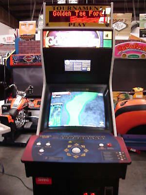 Golden Tee Fore! 2005 Arcade Game Machine used - great