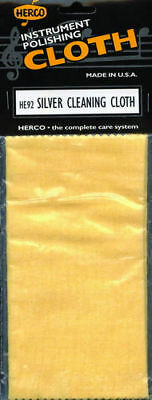 Herco HE92 Silver Cleaning Cloth Maintenance for Flute *New* Polishing