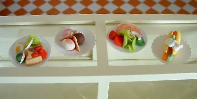 Dolls House Food - Miniature Cold Meals For Two Pack