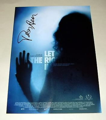 """Let The Right One In Pp Signed 12""""x8"""" Poster Alfredson"""