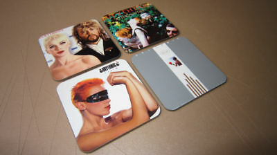 Eurythmics Annie Lennox Fantastic Drinks COASTER Set