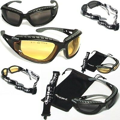 Lot de 2 Lunettes Bollé Safety TRACKER II PROTECTION TRACPSJ TRACPSF glasses UV