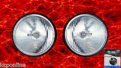 2 X NEW Ring RL020 Round Driving / Spot Lights 155mm