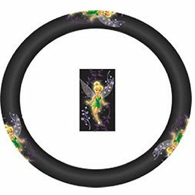 1P MYSTICAL TINKERBELL TINKER BELL STEERING WHEEL COVER UNIVERSAL-FIT