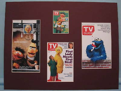 jim Henson's Muppets and Sesame Street & First Day Cover of the Big Bird Stamp