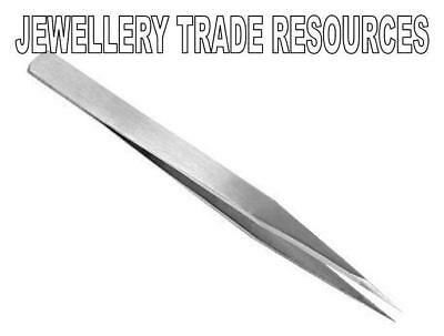Jewellers Steel Soldering Tweezers Jewellery Making