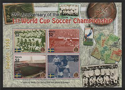 Nevis 2005 Anniv.of 1st World Cup SG1896/99 MNH