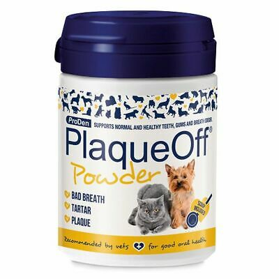 PlaqueOff™ Animal 60g Tartar & Plaque off removal dental Dog Cat