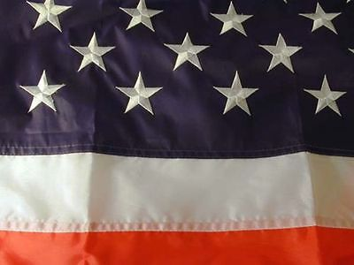GAINT 4 X 6  EMBROIDERED NYLON AMERICAN USA FLAG 4X6 united states large flags