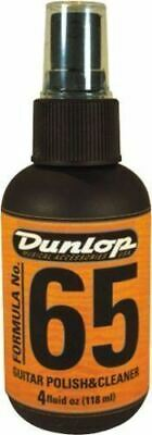 Jim Dunlop Guitar Polish and Cleaner - Formula 65 118mL