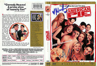 Mena Suvari/J Cho Autographed American Pie DVD Cover