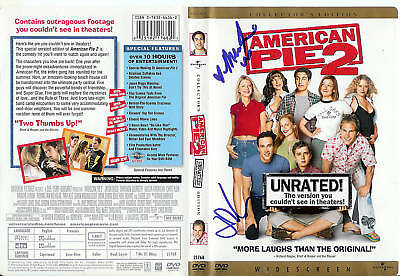 Mena Suvari/J Cho Autographed American Pie 2 DVD Cover