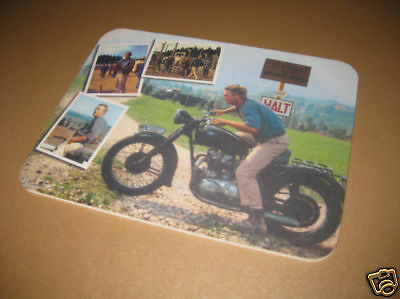 Steve McQueen Great Escape Colour Mousemat