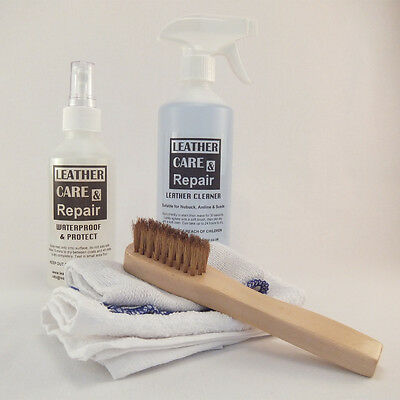 Suede Cleaner & Stain Protect Kit + Brush - All Suede