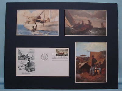 Honoring Winslow Homer & First Day Cover of hisstamp