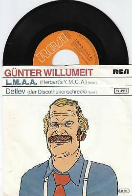 GÜNTER WILLUMEIT Village People Coverversion 45/GER/PIC