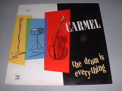 Disco vinile  Lp - Carmel : The drum is every thing