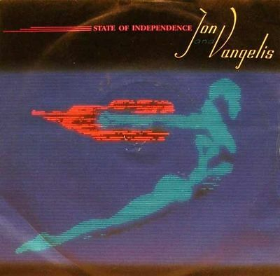 """Jon & Vangelis - state of independence/the friends... 45"""""""