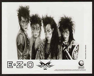 Foto Originale 1987 Ezo Japan Heavy Metal Geffen Record